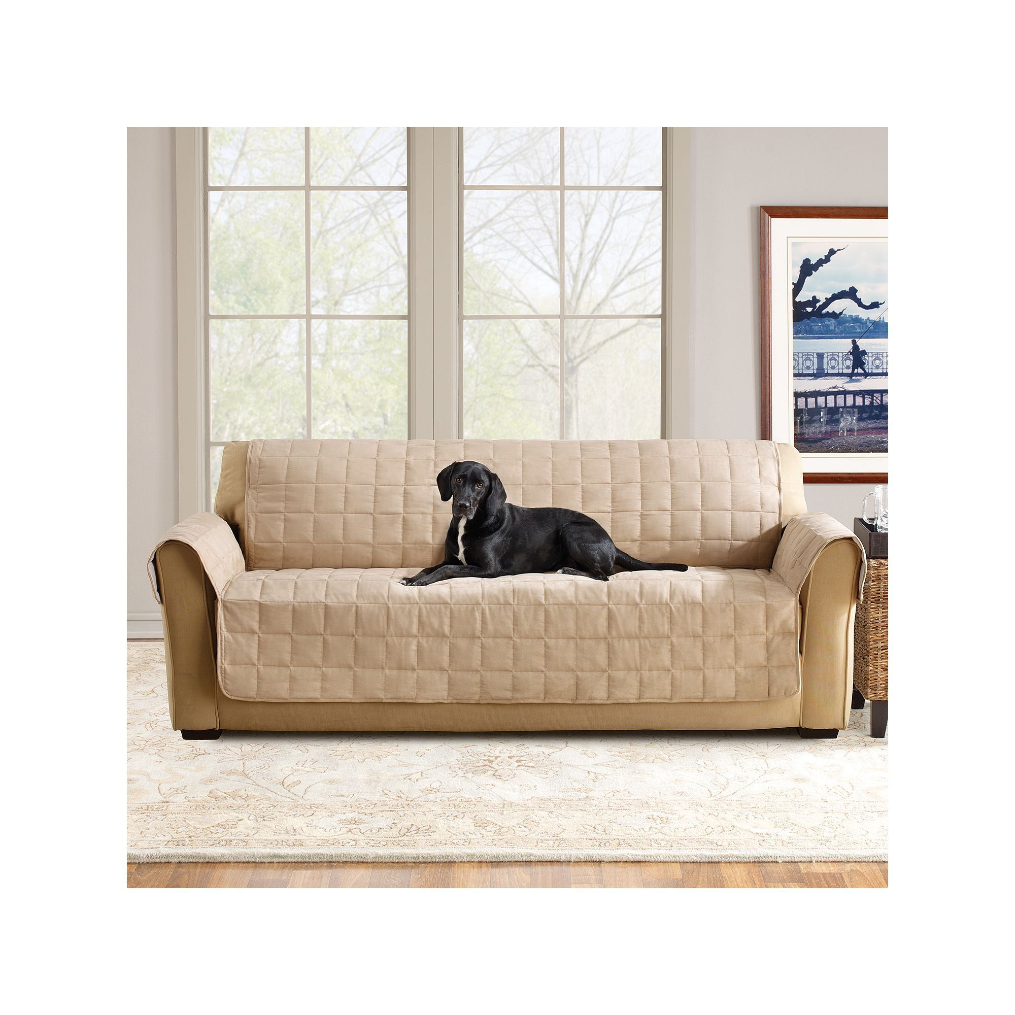 Sure Fit Ultimate Waterproof Suede Sofa Cover Products