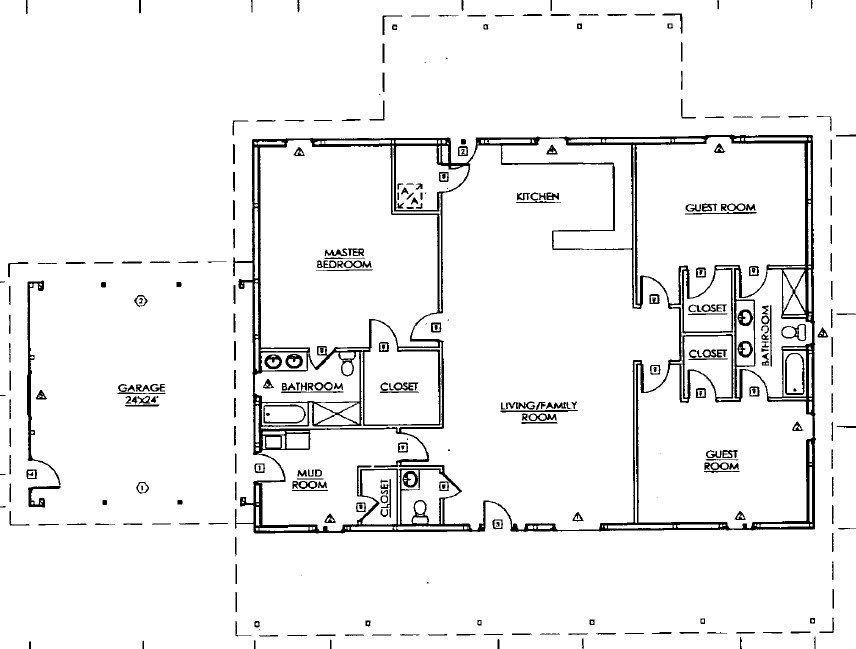 Curtis & Lesta's Home Steel building homes, Steel frame