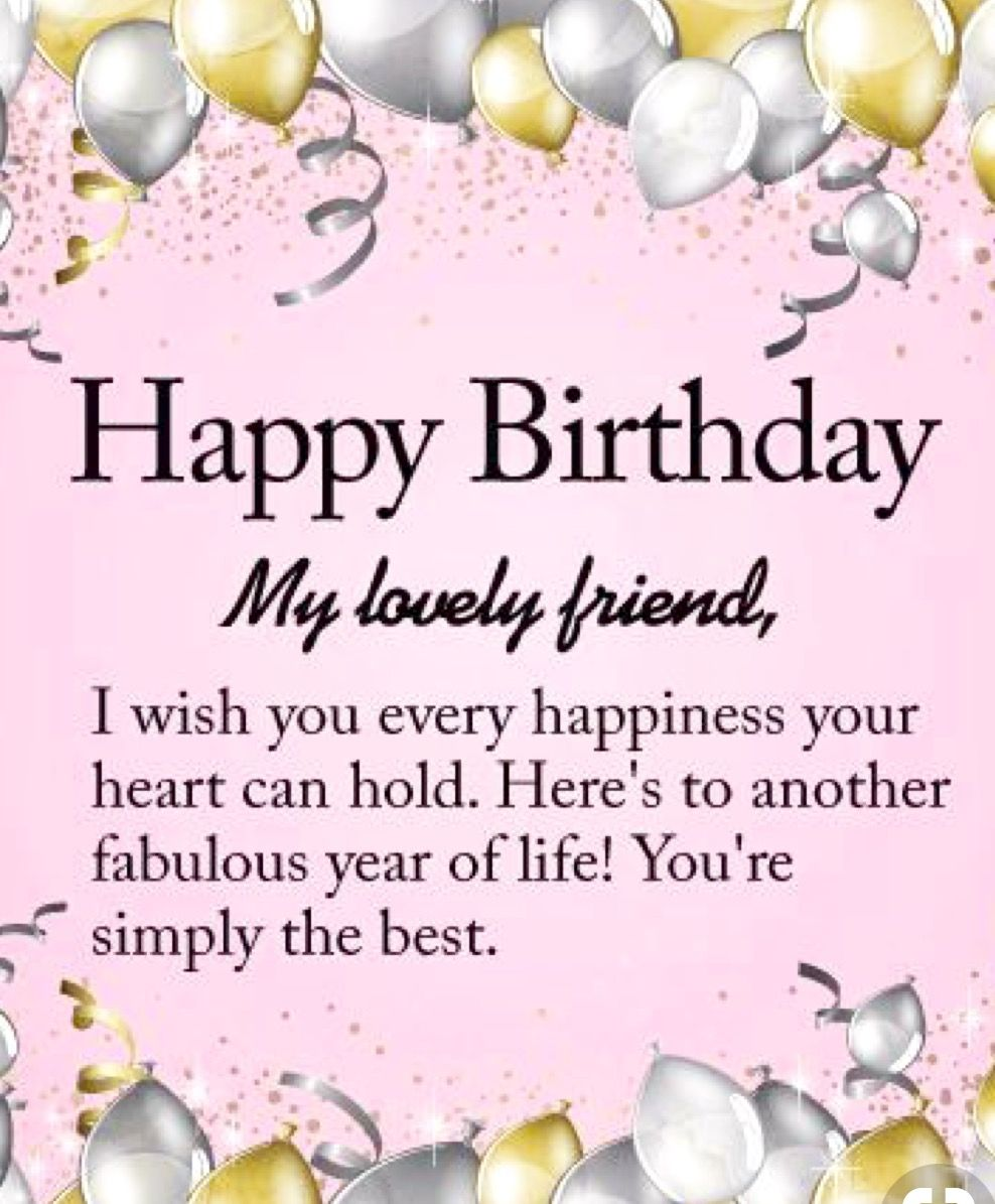 Happiest of Happy Birthdays to you !!!! Always wishing you