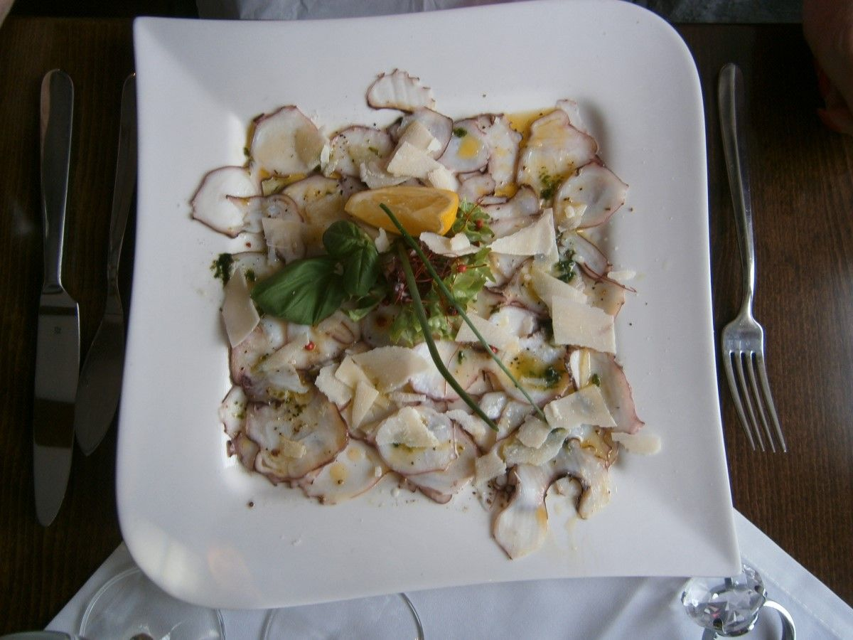Octopuss-Carpaccio