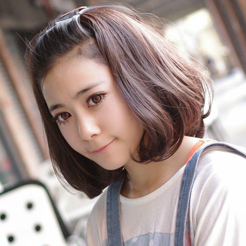 Sensacional peinados pelo corto con flequillo Imagen de cortes de pelo tutoriales - Coreanos Peinados Kawaii Para Cabello Corto ...