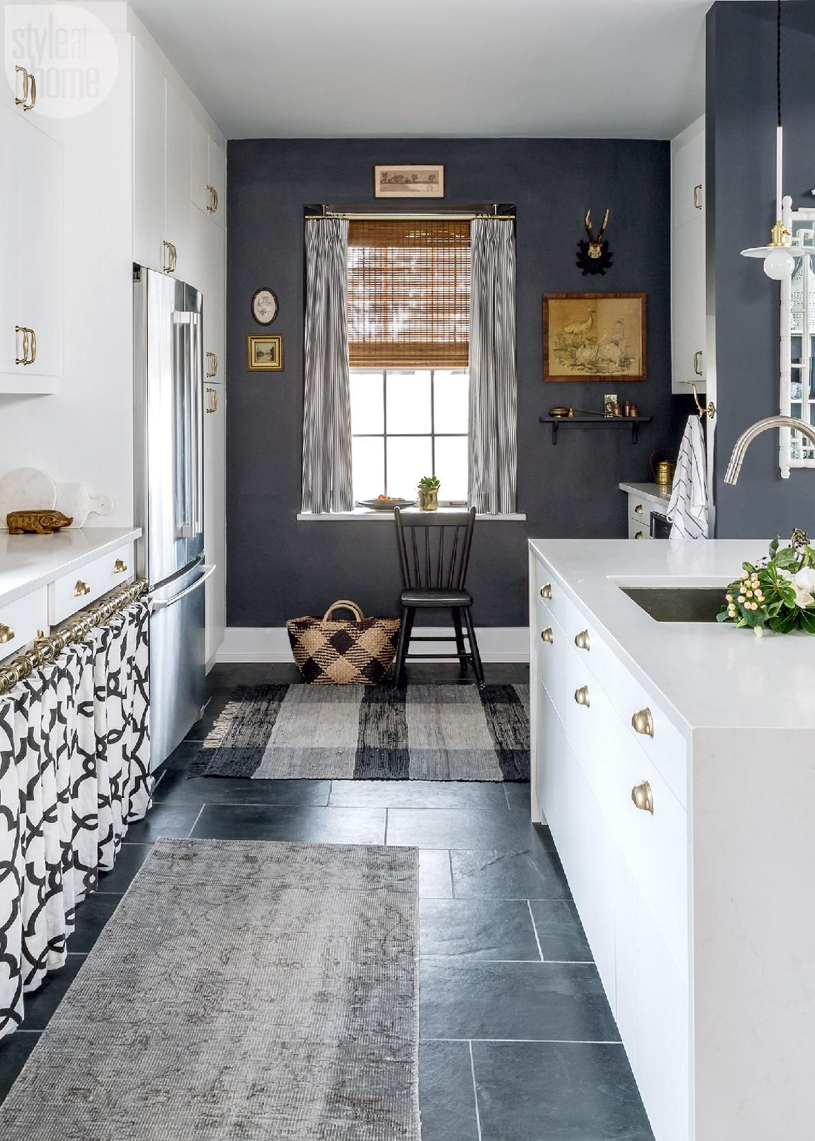 Narrow Galley Kitchen A Bespoke Kitchen Remodel With Nordic Country Flair