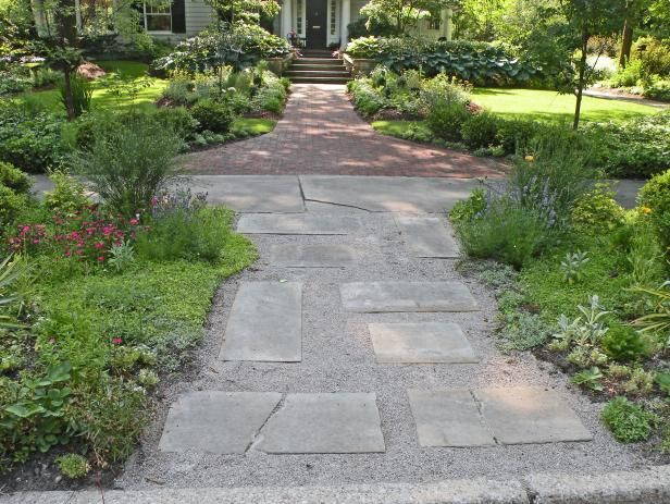 Add charm to your backyard by browsing HGTV landscaping experts' walkway material options and design ideas.