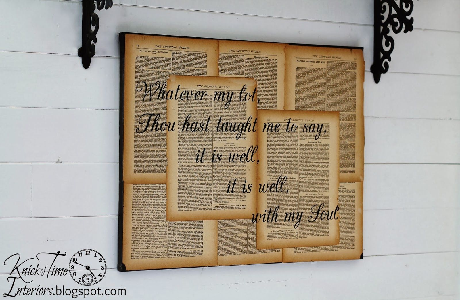 Old Book Pages With Hymn Lyric For Wall Decor Easy Diy Hymn Art Book Page Crafts Diy Book