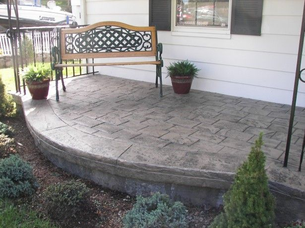 Attirant Image Result For Cement In The Front Yard. Concrete ...