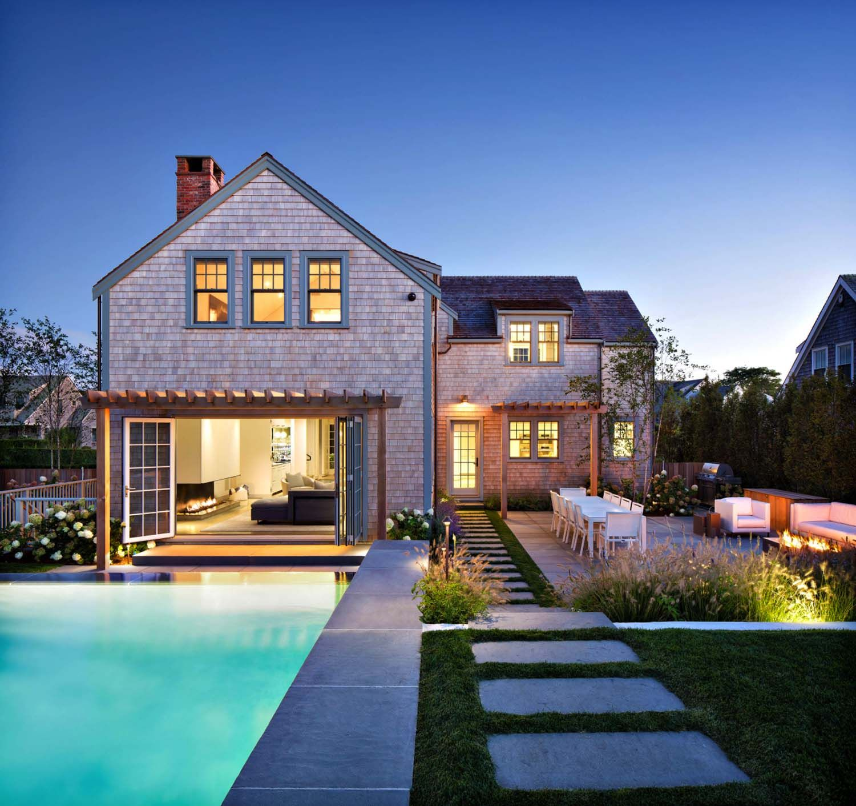 An exquisite modern retreat on the idyllic island of Nantucket ...