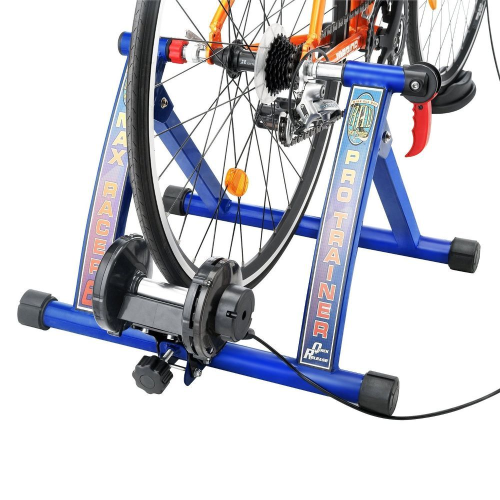 Bicycle Trainer Work Out Bike Exercise Stand 7 Level Resistance