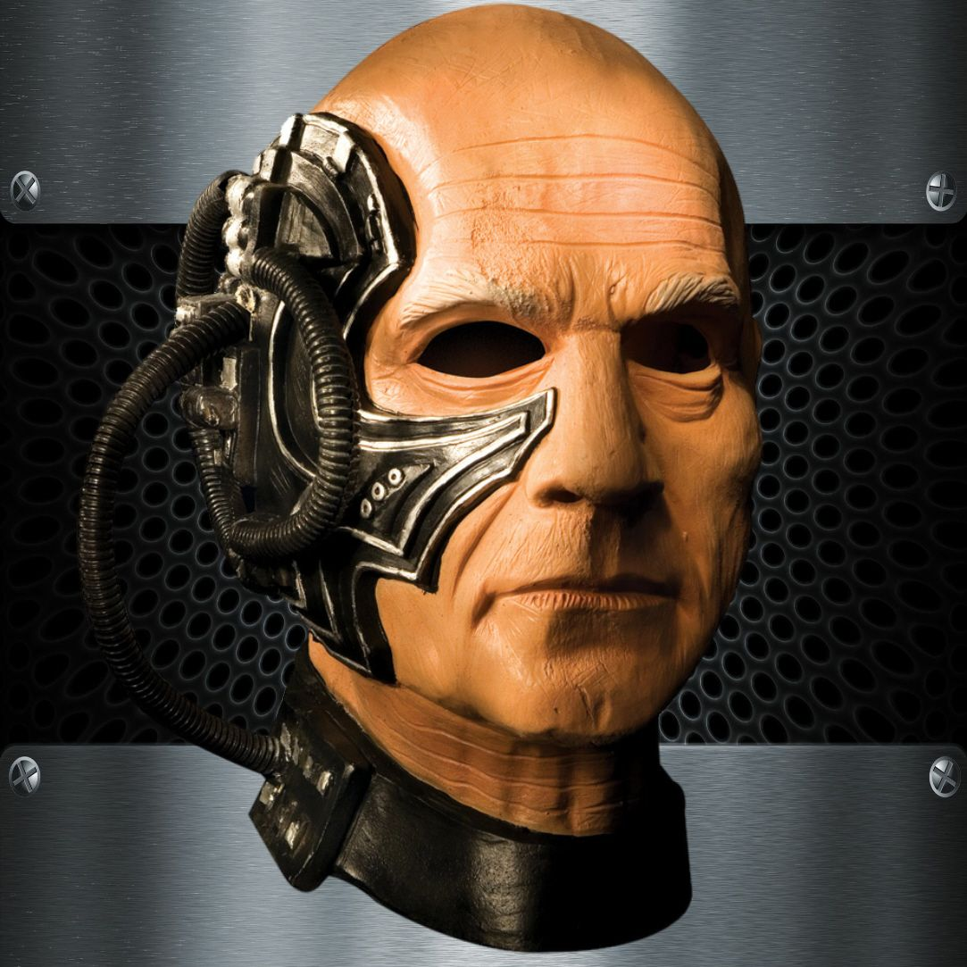 Star Trek Next Generation Locutus Of Borg Latex Mask | FX makeup ...