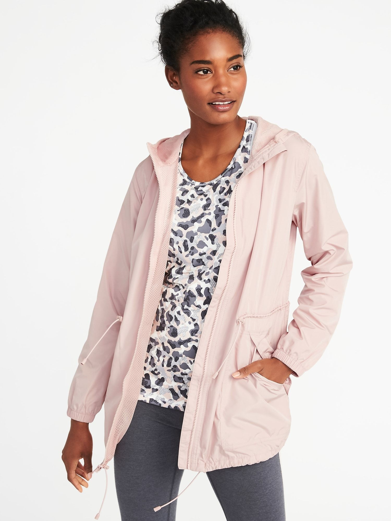 b860aae841f Go-H2O Water-Resistant Hooded Anorak for Women