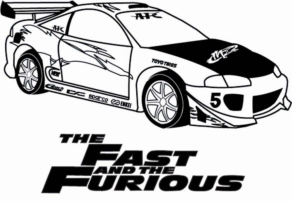 Expensive Car Coloring Pages : Fast and furious eclipse by reapergt viantart on