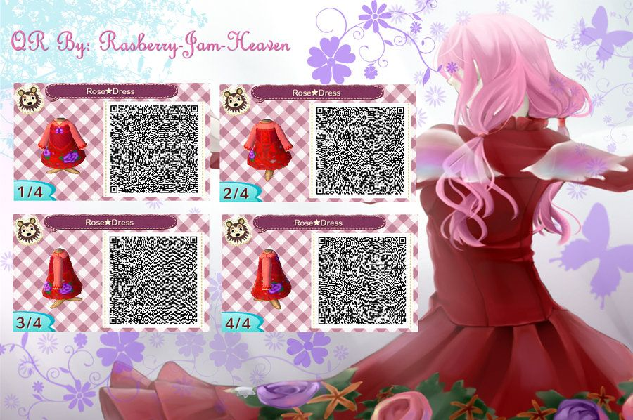 Guilty crown inori yuzuriha qr code outfit 3 by for Animal crossing mural