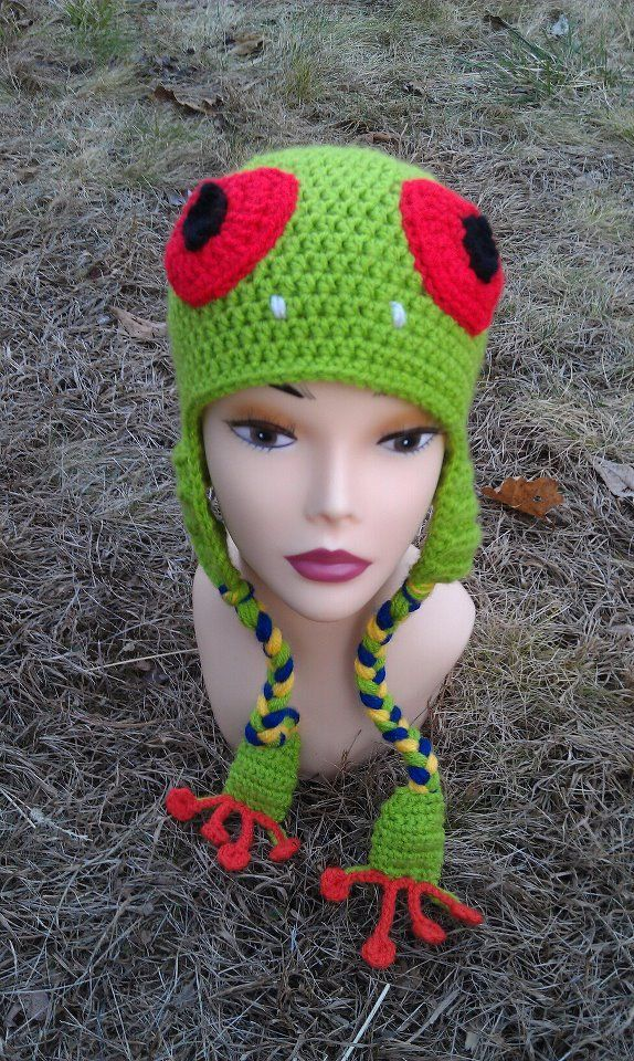 Free Crochet Character Hat Patterns Red Hat Crochet Patterns