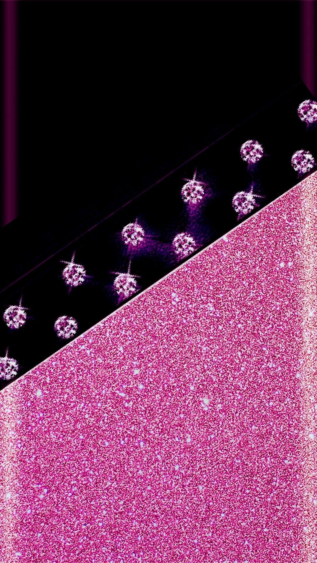 Black And Pink Wallpaper Pinterest