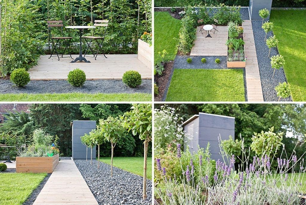 Moderne gartengestaltung mit steinen originell gartenweg for Gartengestaltung pinterest