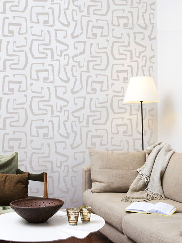 Ethnic Wall Stencil Patterns - Tribal Vibe | Stencils/Stamps ...