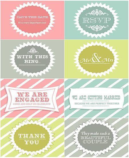 53 Amazing Free Printable Wedding Favor Tags Visit Www