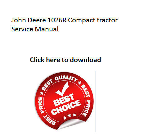 Click On The Above And Download John Deere 1026r Pact. Click On The Above And Download John Deere 1026r Pact Tractor Service Manual. John Deere. John Deere Wg48a Lawn Mower Electrical Diagram At Scoala.co