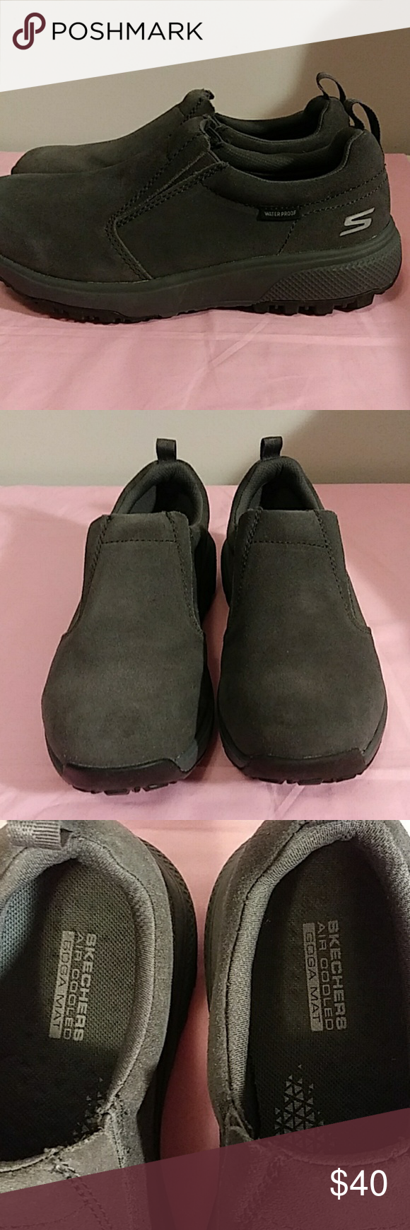 Brand New Sketchers On The Go Outdoor Charcoal Nwt Ultra Shoes