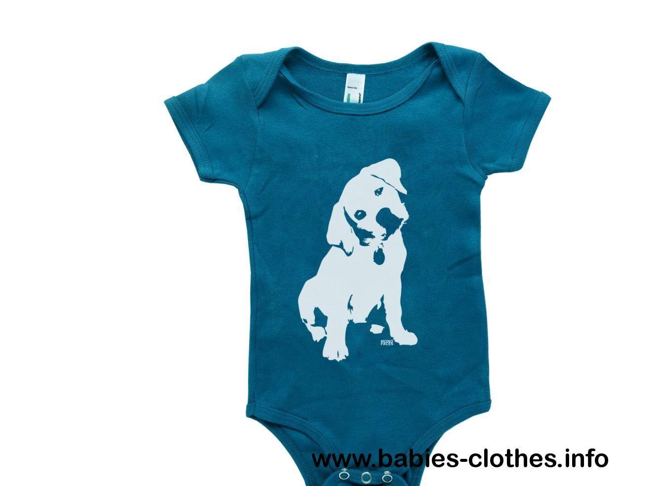 Labrador Retriever Organic Baby Onepiece Organic Baby Bodysuit
