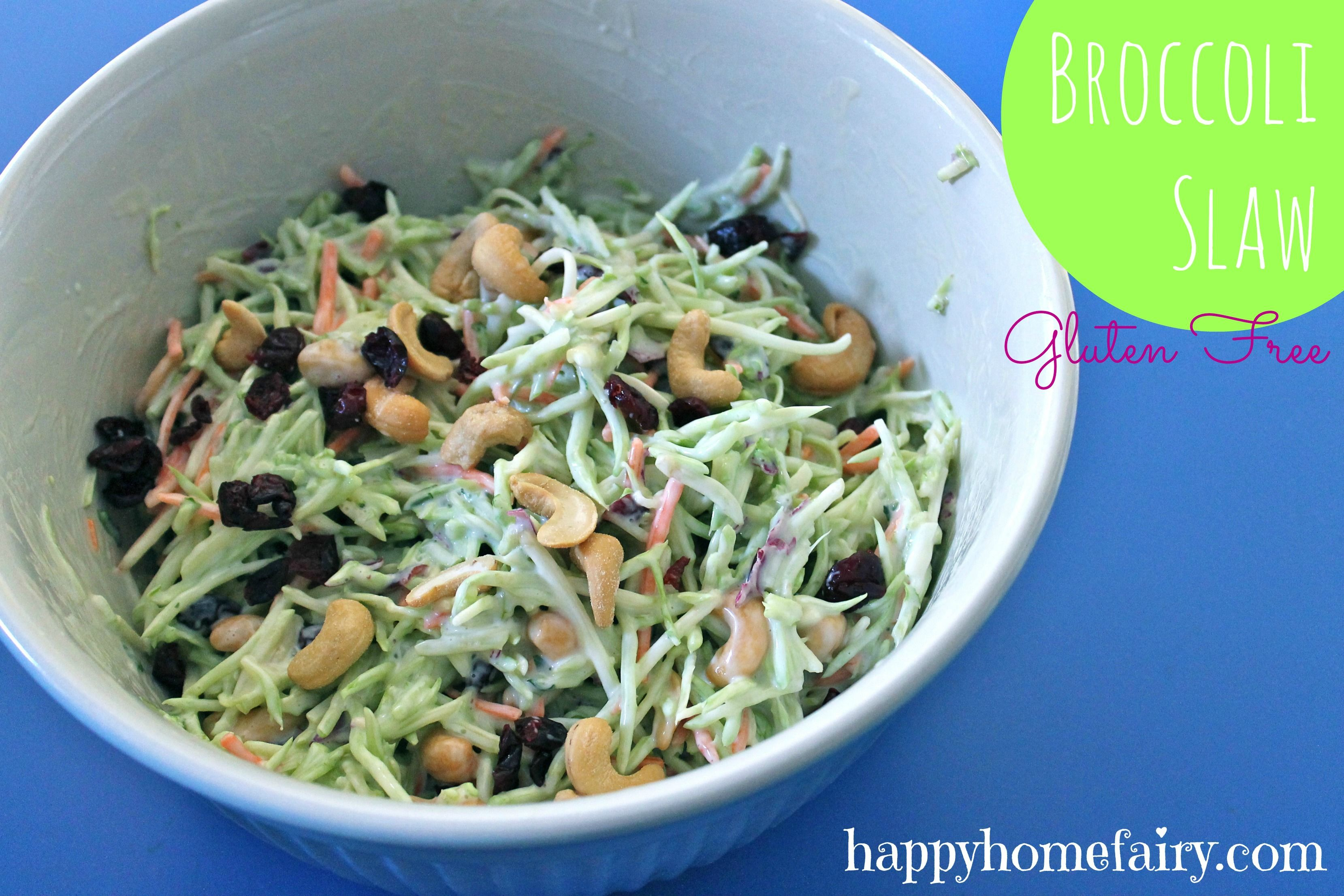 Recipe - Broccoli Slaw