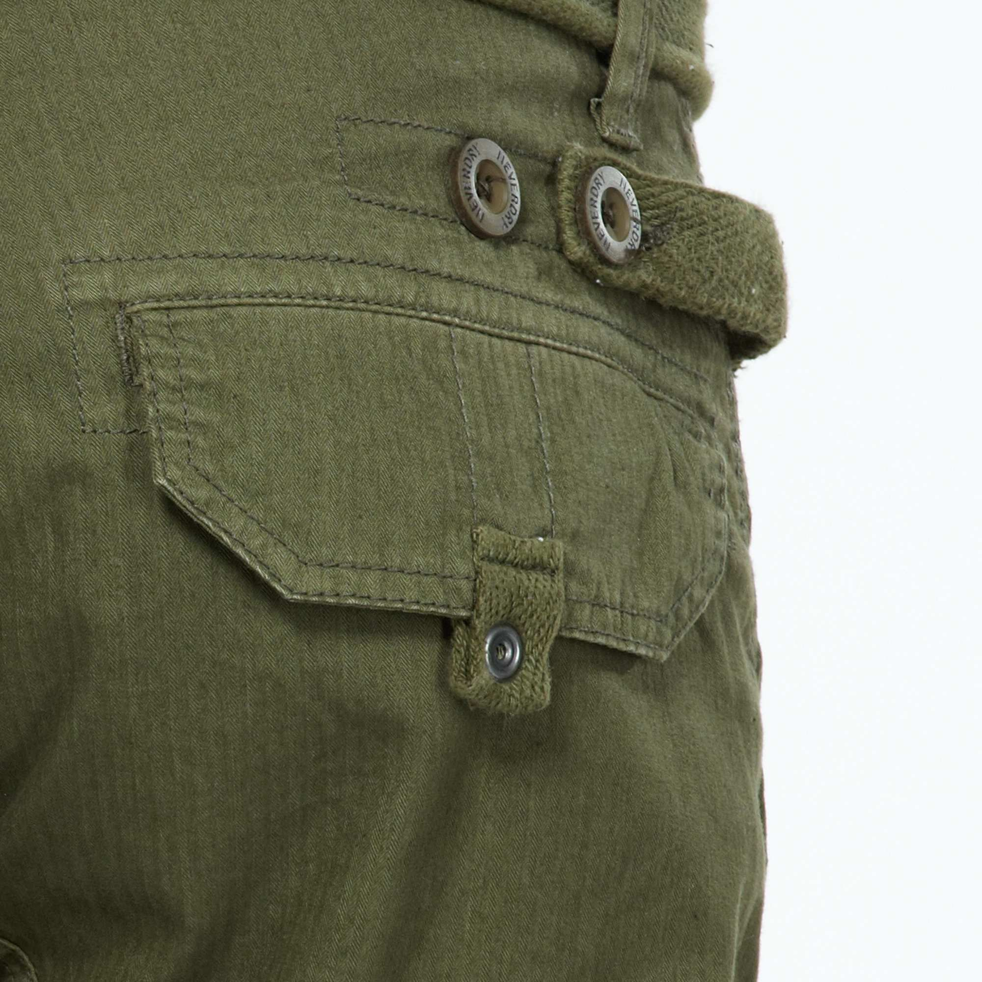 Pantalón tipo cargo 'Neverdry' + cinturón correa Hombre - Kiabi - 32,00€