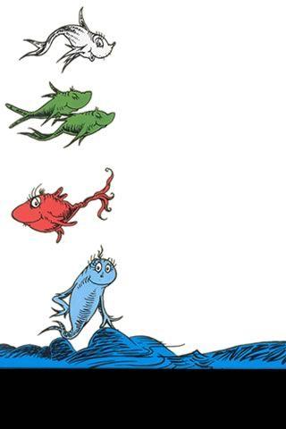 Digital Mom Blog Http Www Digitalmomblog Com Dr Seuss Iphone Wallpapers Dr Seuss Art Dr Seuss Illustration Fish Coloring Page