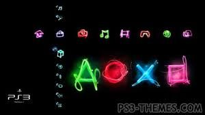 Ps3 Themes Google Search Neon Signs Theme Graphic