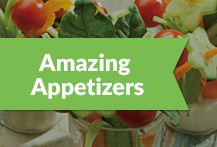 Fun food perfect for parties, tapas and before a meal. #appetizers