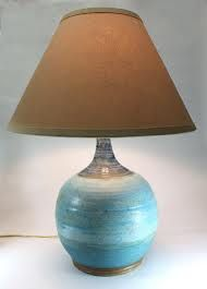 buy ceramic lamp base turquoise - Google Search