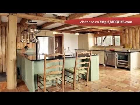como decorar una cocina pequeña rustica con paletas - Buscar con