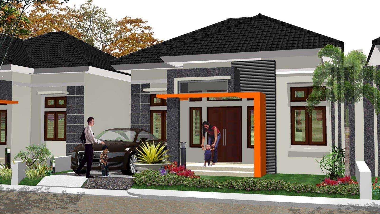 Desain Perpaduan Warna Cat Rumah Minimalis Tampak Depan Di 2020 Desain Eksterior Rumah Minimalis Rumah Mewah