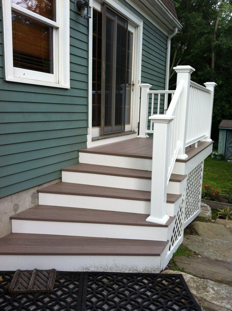 Best Replace Deck With Stairs Leading To Patio Patio Stairs 400 x 300