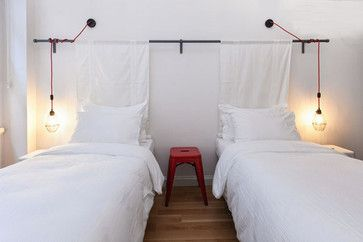 Industrial Lighting Contemporary Bedroom With Images Contemporary Bedroom Coastal Bedroom Apartments For Rent