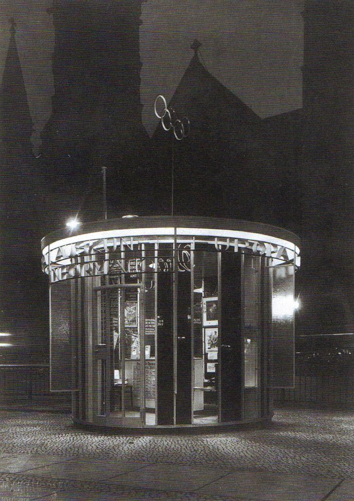 Paul Baumgarten, Olympiapavillon am Tauentzien, 1936.
