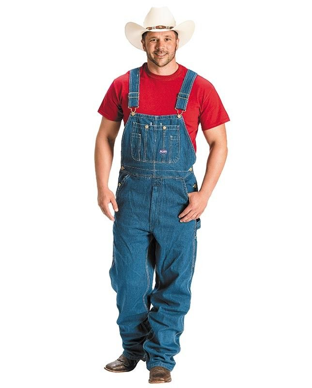 These american made round house men 39 s bib overalls are great for working on the job around the - Roundhouse bib overalls ...