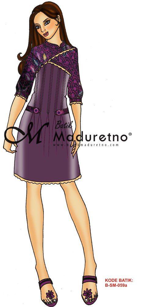 Pin Oleh Annindya Najma Di Trendy With Batik Sketsa Model Pakaian