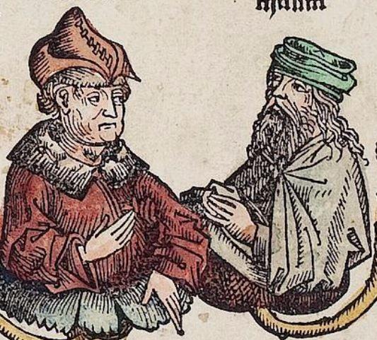 Schedel, Hartmann  ; Münzer, Hieronymus   [Hrsg.]; Pleydenwurff, Wilhelm   [Ill.]; Wolgemut, Michael   [Ill.] Liber chronicarum Nürnberg, 23. Dezember 1493 o. Cod.  Folio XVr