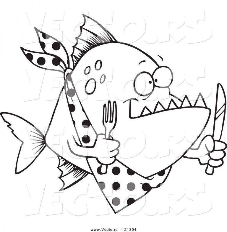 Pin Auf Fish Coloring Pages