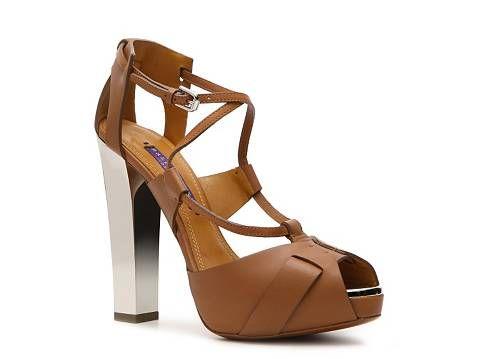 Ralph Lauren Collection Women's Kacy Sandal Dress Sandals