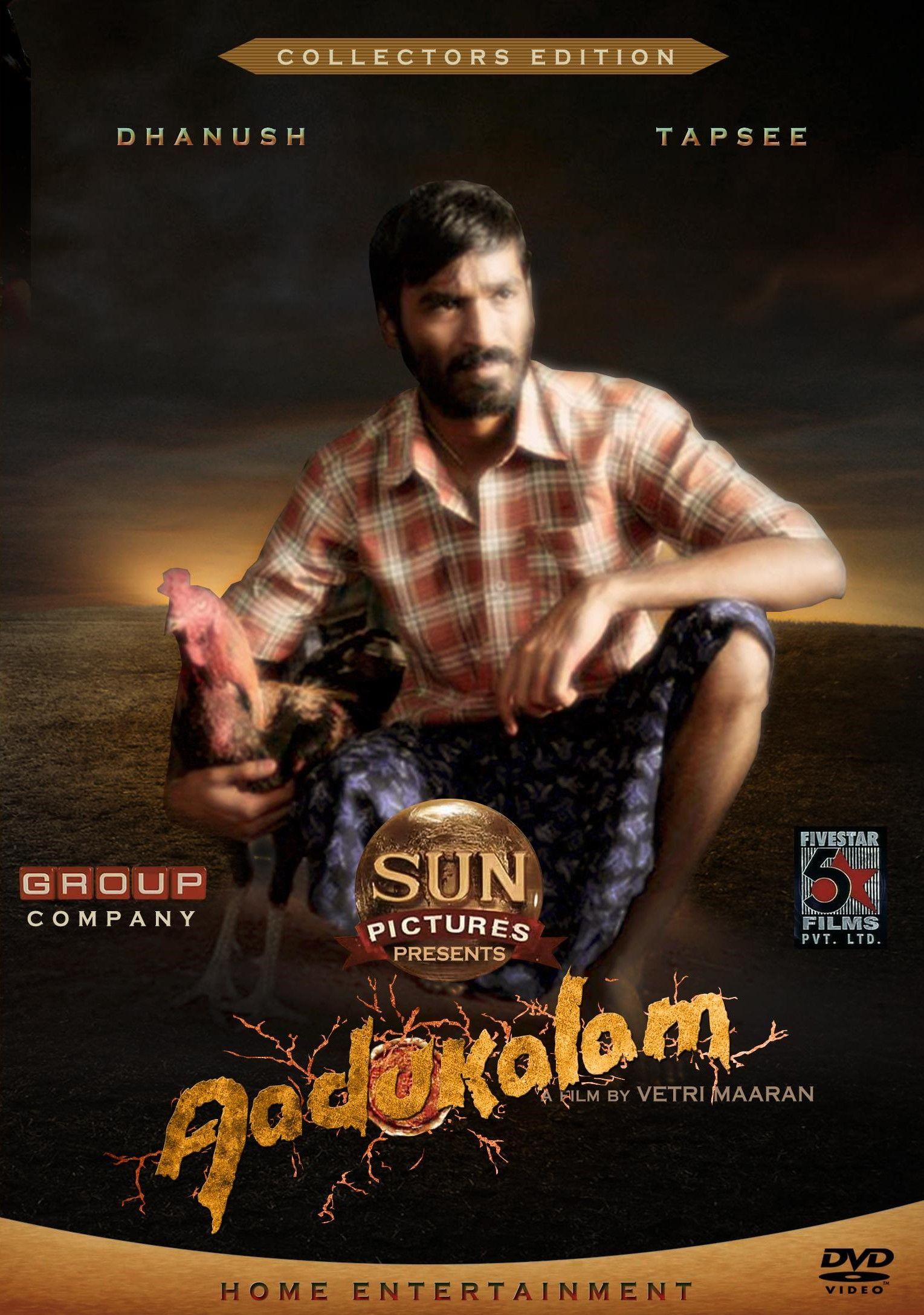 Aadukalam 2011 Tamil Movie Online In Hd Einthusan Dhanush Taapseepannu Directed By Vetrimaran Music By G Tamil Movies Online Full Movies Thriller Movies