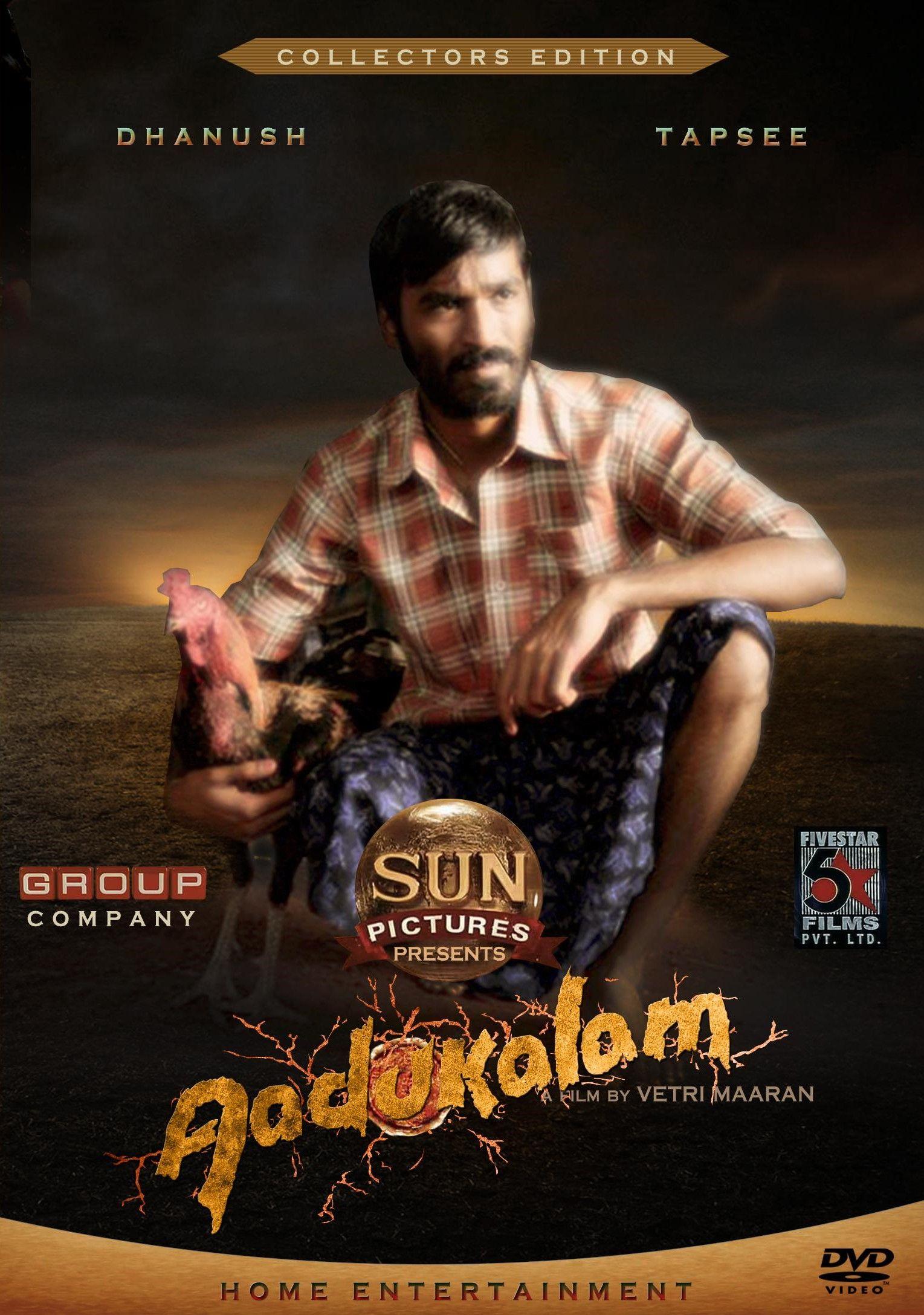 Aadukalam (2011) Tamil Movie Online in HD Einthusan