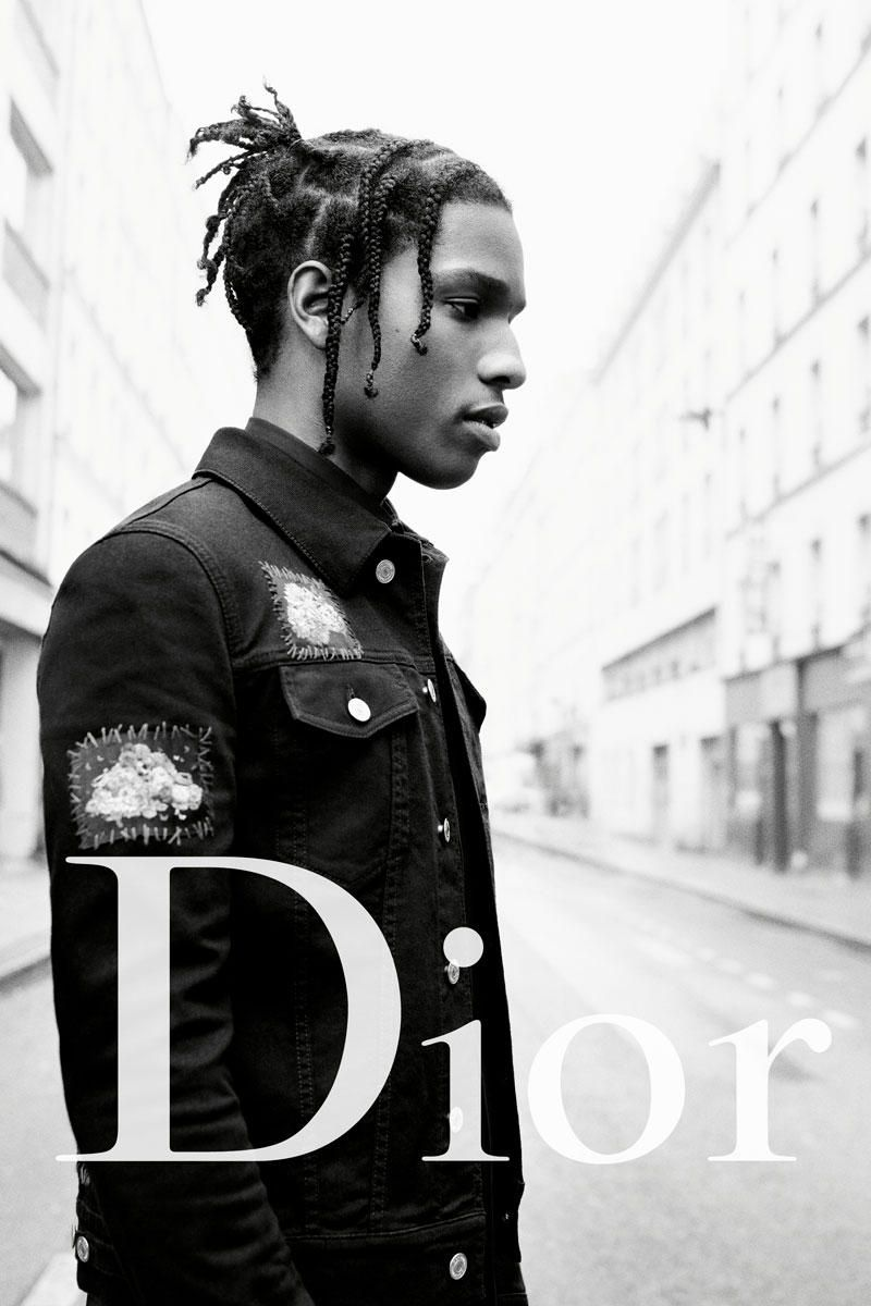 A Ap Rocky Boy George And Rami Malek Are The Faces Of Dior S 2017