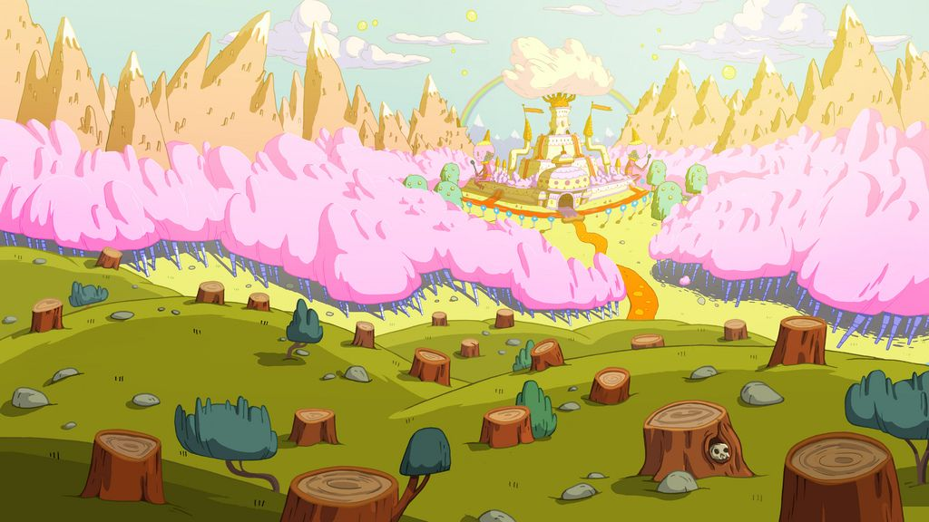 Adventure Time Candy Kingdom Adventure Time Background Adventure Time Art Adventure Time Room