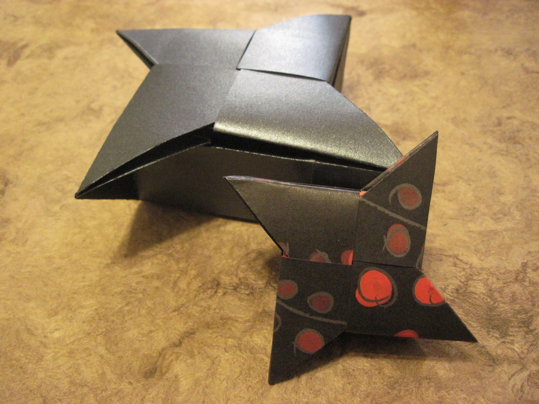 shuriken origami box | Askar | Pinterest - photo#18