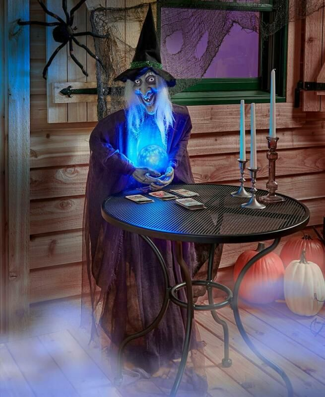 For Sale: HALLOWEEN Life Size Psychic WITCH Haunted House