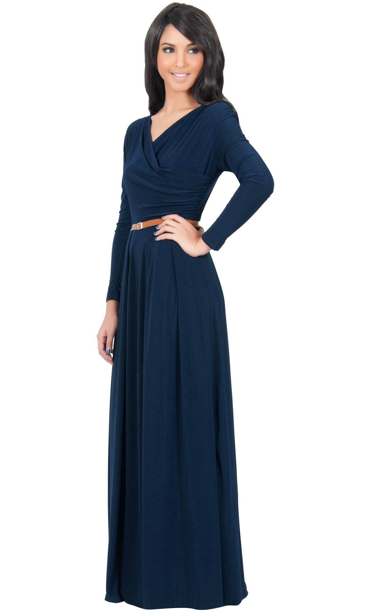 Long sleeve dress in our gcg range with sizing available from