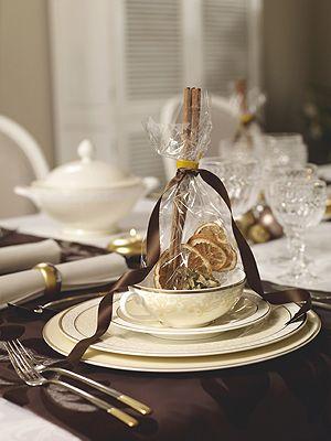 Tischdeko f r weihnachten tischdeko mit zimt und orangen wohnen garten tisch tafel - Wohnen und garten weihnachten ...