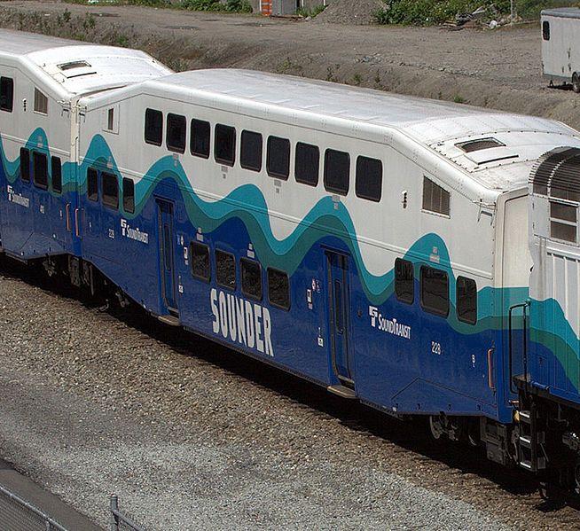 File Sdrx228 Jpg Wikipedia The Free Encyclopedia In 2020 Car Trailer Commuter Train Seattle Sounders