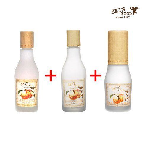 Skinfood Peach Sake Toner For Pore Care 135ml Sake Pore Serum