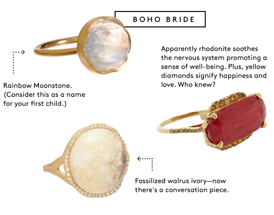 Jennifer Fisher Rings Luden Ring Details Monique Pean Fossilized Walrus Ivory Diamond
